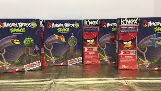 K'Nex Angry Birds Space Sets