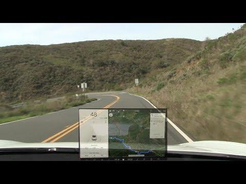 Model 3 test on winding roads