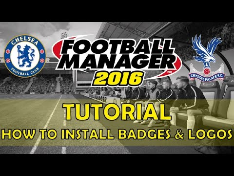 How To Install Badges & Logos | Football Manager 2016