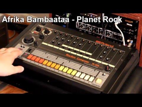 Ten classic Roland TR-808 patterns
