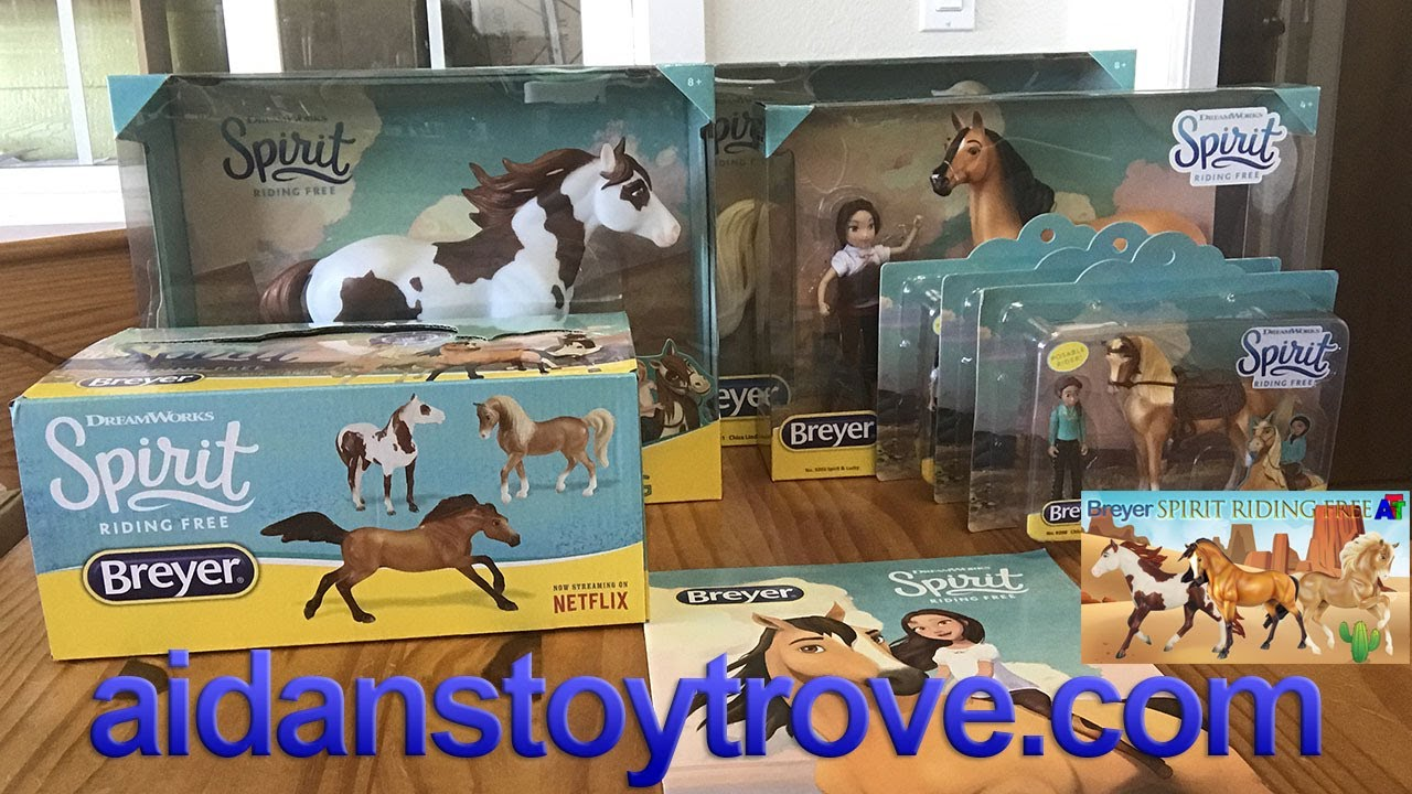 Breyer Spirit Riding Free Series Horses Big And Small
