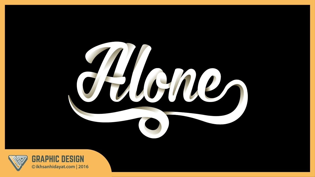 text effect tutorial modify the fonts with shadow doovi