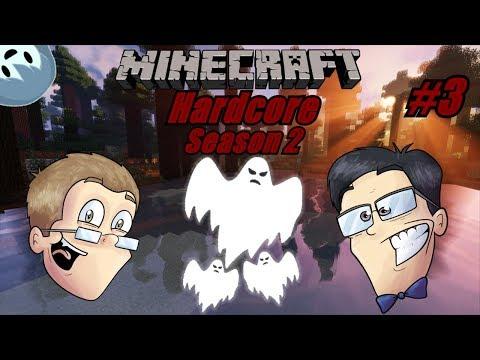 Minecraft HC #2 Part 3 (Paranormal Mining!)