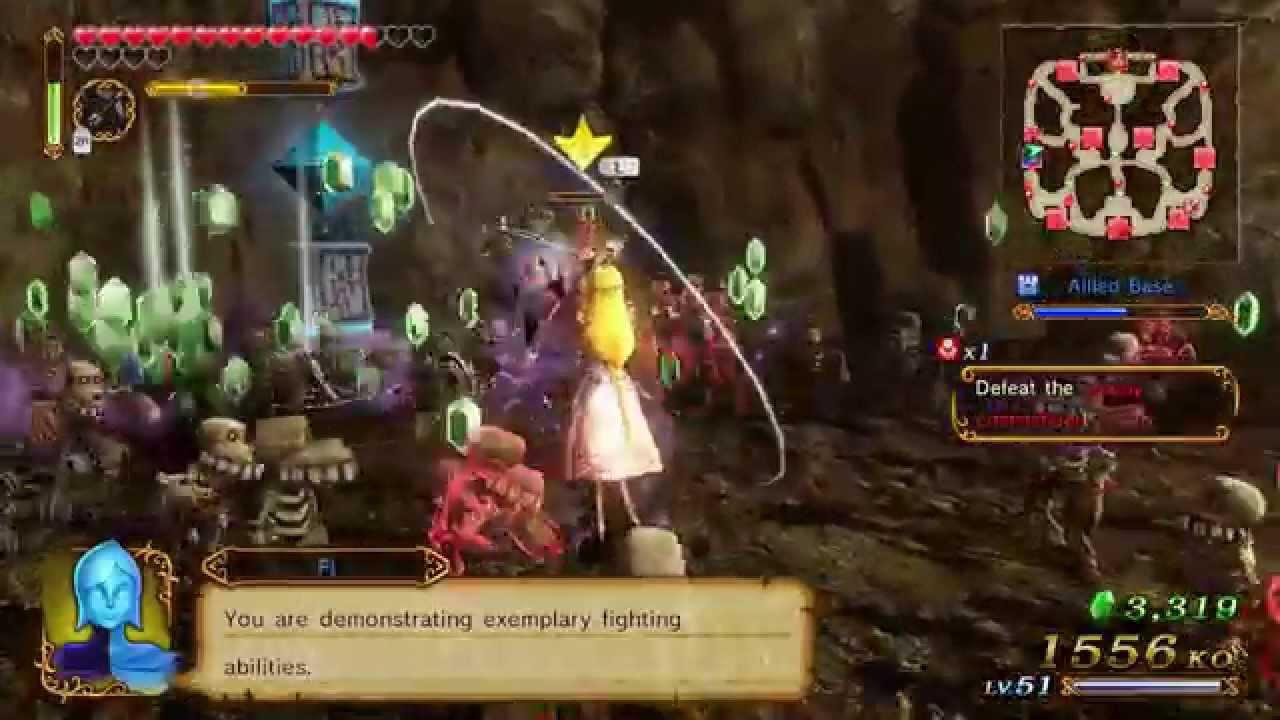 Hyrule Warriors Zelda Baton Level 3 Weapon Mission A Rank Youtube