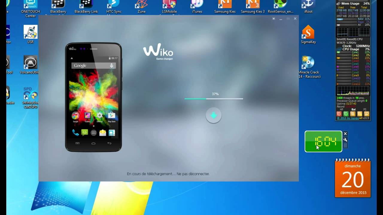 firmware wiko tommy