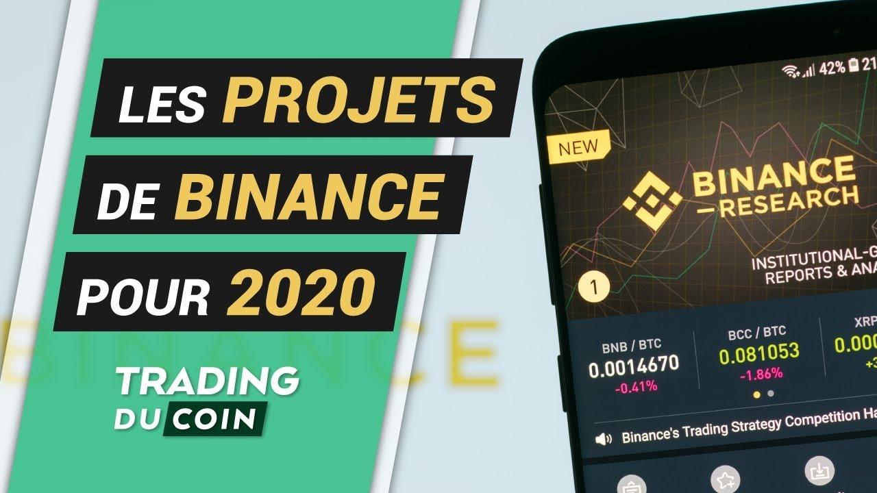 LES PROJETS DE BINANCE POUR 2020 3