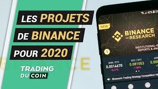 LES PROJETS DE BINANCE POUR 2020