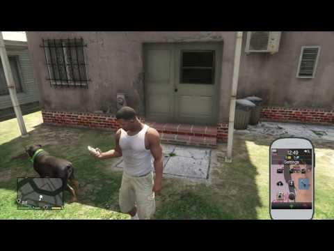 GTA 5 V XBOX 360 - Franklin's Samsung Phone Review