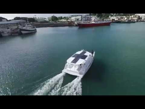 Cousine Island Solar Catamaran