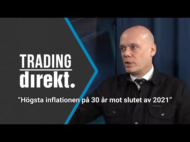 Trading Direkt 2021-03-19: Högsta inflationen på 30 år mot slutet av 2021 - Nordea Markets