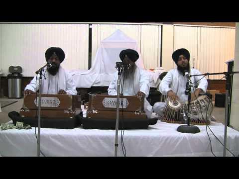 Bhai Gurcharan Singh Hazoori Ragi - 8-23-12 - Live SRS Chicago (HD)