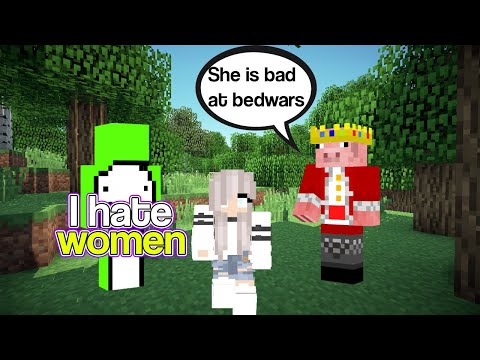 dream and technoblade roast womens for 7 minute straight