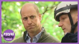 Prince William Meets Community Rescue Volunteers