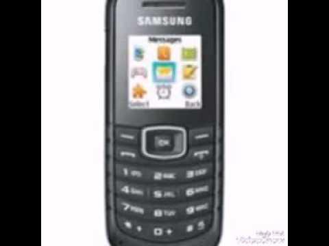 Samsung GT-E1080i ringtones