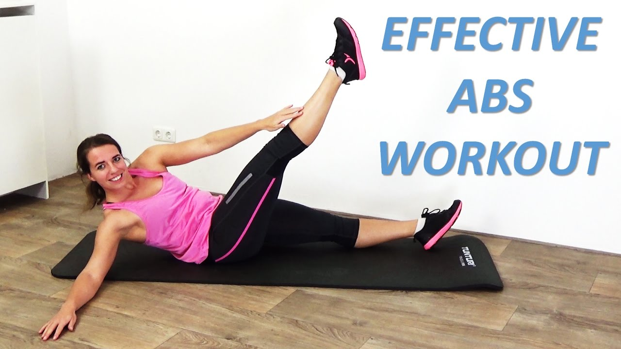 Intense Abs Workout - 10 Minute Abs Workout Routine For