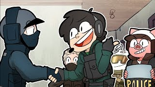 We made a friend in Rainbow Six Siege ~ Rainbow Six Siege Funny Moments