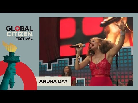 Andra Day Performs 'Rise Up' | Global Citizen Festival NYC 2017