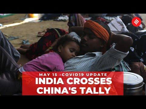 Coronavirus on May 16, India surpasses China's Covid-19 tally
