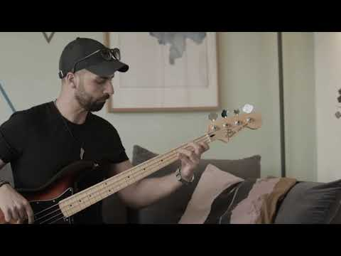 BRUNO MARS - 24K MAGIC - Bass Cover by George Dee