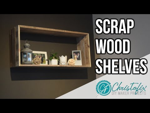 How to make shelves from pallet wood | scrap wood book shelves | DIY Home decoration - Episode 5