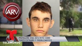 El pasado oscuro y problemático de Nikolas Cruz | Al Rojo Vivo | Telemundo