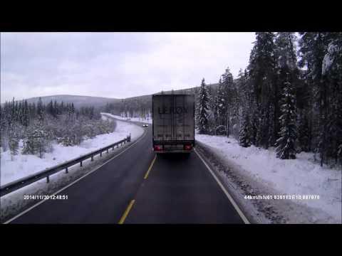 Svimehuer i trafikken - En yrkessjåførs hverdag