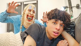 BREAKING INTO LARRAY'S HOUSE!! (SCARE PRANK)