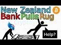New Zealand Banks Pull The Rug And Kill Kiwi Bitcoin Exchange BitNZ (The Cryptoverse #209)