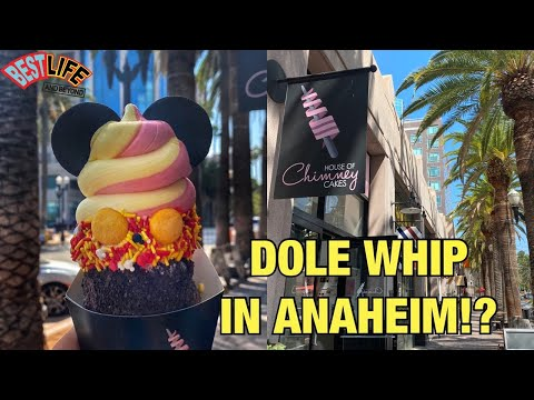 A Magical Disney Treat In Downtown Anaheim..Just 3 Miles From Disneyland! & They Serve Dole Whip!