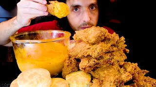 Download CHEESE SAUCE POPEYES FRIED CHICKEN FEAST * MUKBANG * | NOMNOMSAMMIEBOY