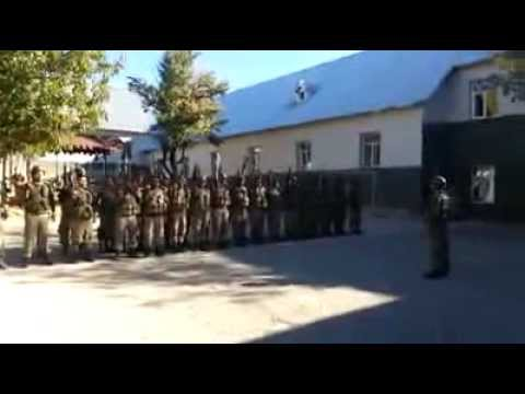 tunceli geyiksuyu jandarma komando taburu 924 göreve giderken komando andı