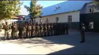 Tunceli Geyiksuyu jandarma komando taburu 92/4 göreve giderken KOMANDO andı