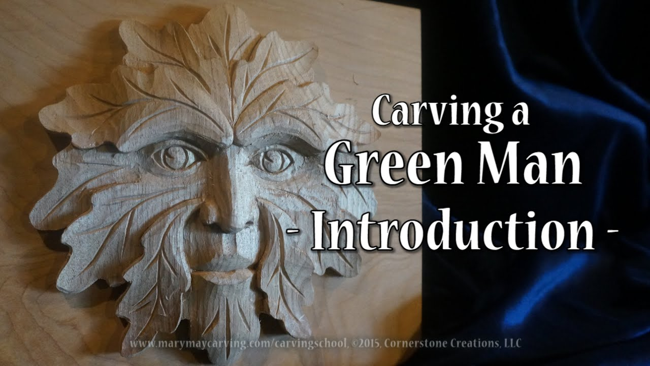 Carving a Green Man - Introduction - YouTube