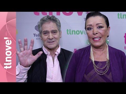 Sylvia Pasquel y Leonardo Daniel en Las 5 mejores   Tlnovelas