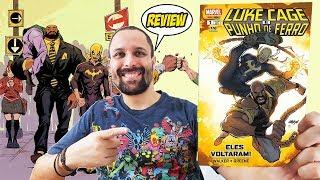 Luke Cage e Punho de Ferro - Ed. 1 - Eles Voltaram [Review] Quadrinhos Comics Hqs Marvel Netflix