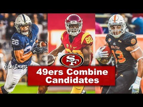 Live! NFL Combine   49ers GM John Lynch Met With Saquon Barkley, Deontay Burnett, Marcus Davenport