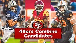 Live! NFL Combine   49ers GM John Lynch Met With Saquon Barkley, Deontay Burnett, Marcus Davenport thumbnail
