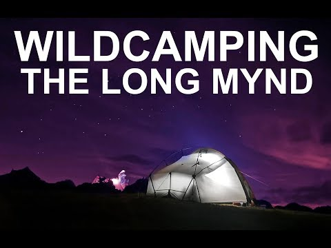 Wildcamping Shropshire: The Long Mynd