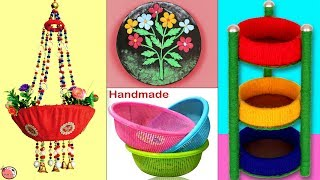 10 Best Room Decor Idea Out Of Waste Materials || DIY Room Decoration !!!