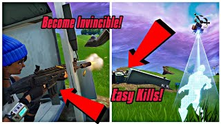 Become Invincible (New) Fortnite Glitches Season 6 PS4/Xbox one 2018