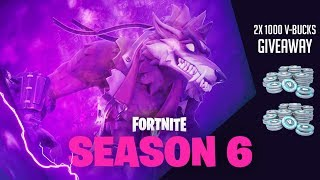 🔥The new Season 6 in Fortnite🔥| Will the floating island move?😈Battle Pass free scarf