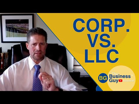 Corporation vs. LLC | Comparison & Differences - Attorney CPA Information