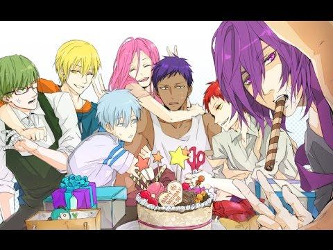 Happy Birthday [ the click five ] AMV 04/12/2015