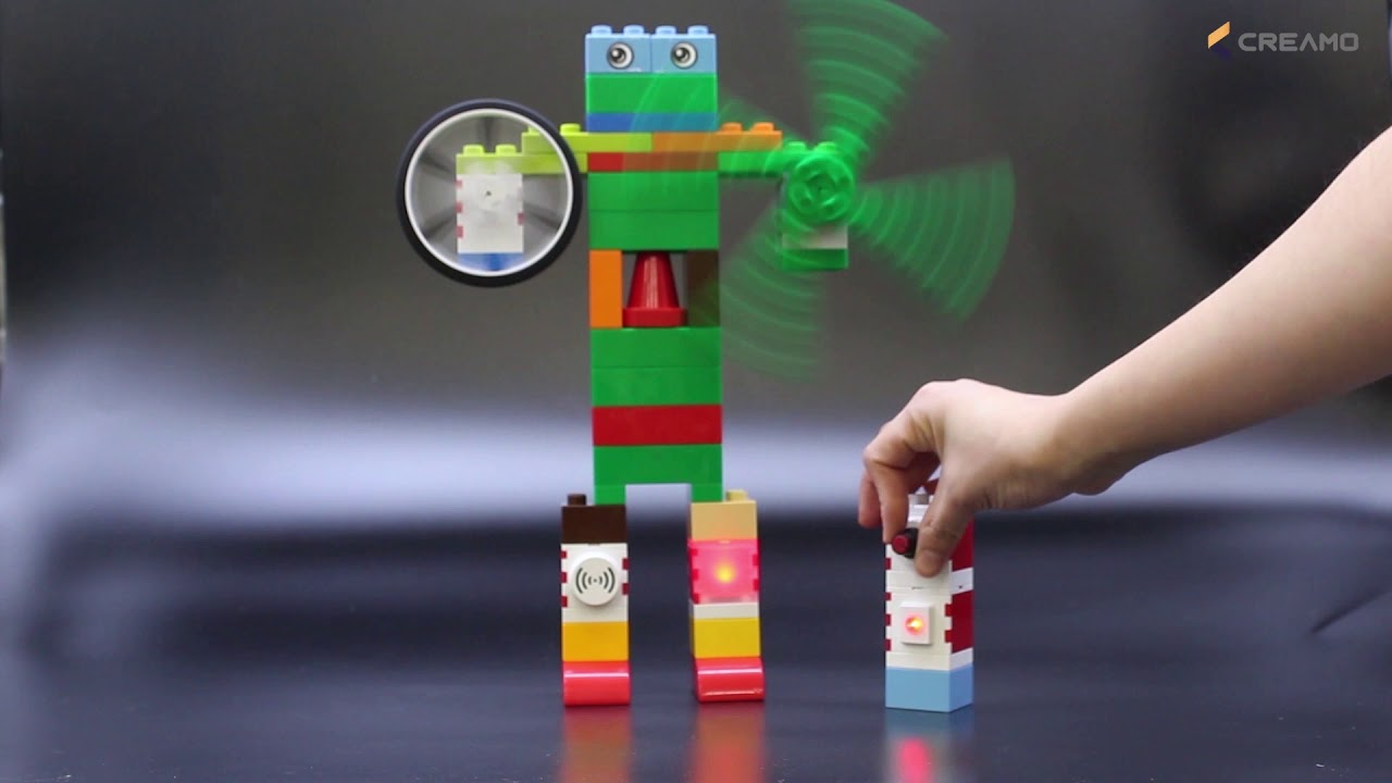 CREAMO SMART BLOCK_Fan robot