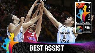 Argentina v Croatia - Best Assist - 2014 FIBA Basketball World Cup