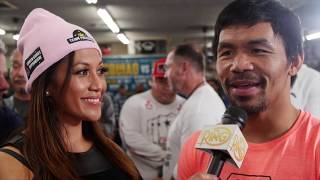 Manny Pacquiao on Adrien Broner's KO prediction: