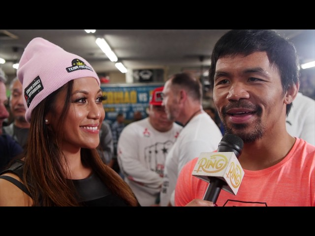 """Manny Pacquiao on Adrien Broner's KO prediction: """"Easy to say, hard to do. It will not happen."""""""
