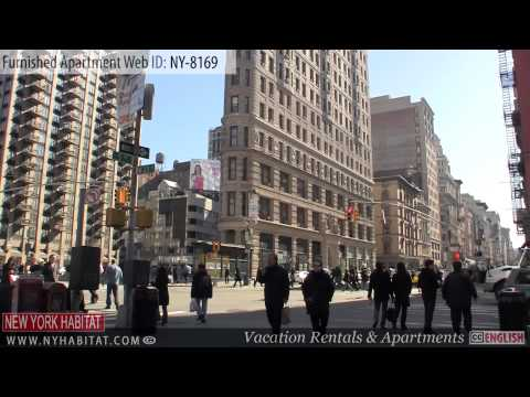 New York City - Video Tour Of A Furnished Loft Apartment On West 27th Street (Chelsea - Manhattan)