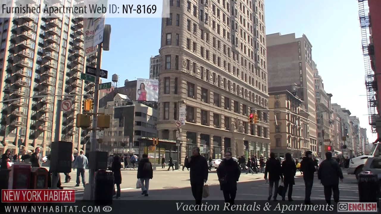 New York City   Video Tour Of A Furnished Loft Apartment On West 27th  Street (Chelsea   Manhattan)   YouTube