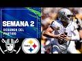 HISTÓRICO CARR vs STEELERS en victoria de RAIDERS   Semana 2 2021 NFL Game Highlights